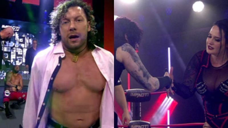 Kenny Omega and Don Callis frustrated; Deonna Purrazzo