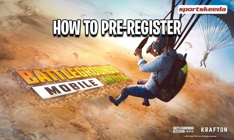 Players can head over to the Google Play Store and pre-register for Battlegrounds Mobile India