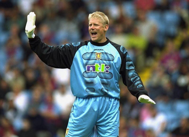 Peter Schmeichel scored his lone Premier League goal for Aston Villa in 2001