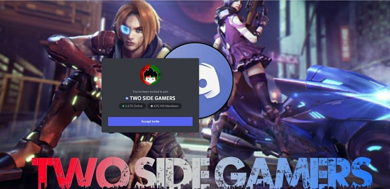 Two-Side Gamers have the biggest Free Fire discord servers among the Indian YouTubers