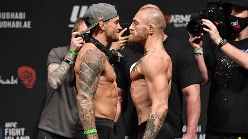 Dustin Poirier and Conor McGregor will headline UFC 264 in July