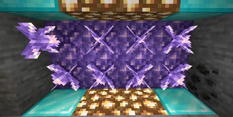 Shown: A few Budding Amethyst (Image via Minecraft)