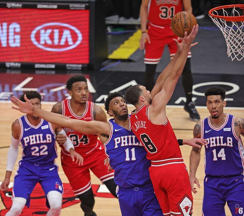 Philadelphia 76ers vs Chicago Bulls