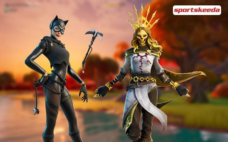 The Fortnite 16.40 update brings in some new cosmetics and questlines (Image via Sportskeeda)