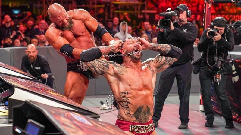 Batista vs Triple H at WrestleMania 35