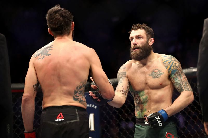 Kamaru Usman is willing to give Michael Chiesa a shot at the UFC title.