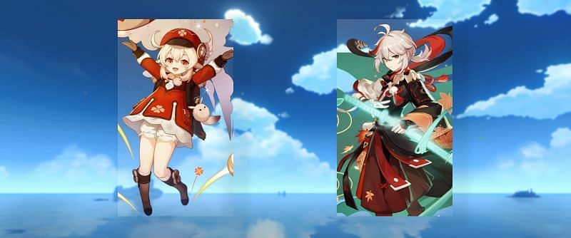 Klee and Kazuha will be arriving in Genshin Impact soon (Image via lumie_lumie)