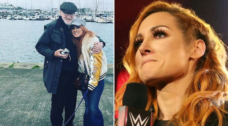 Becky Lynch and her father