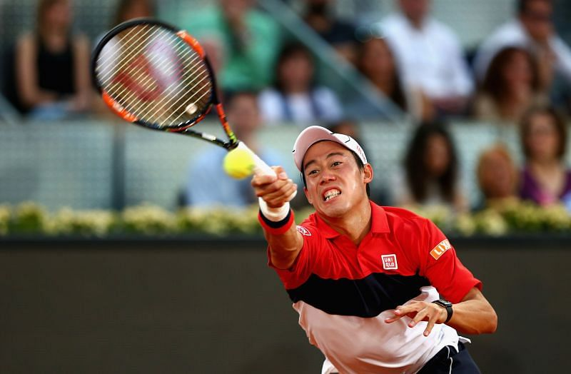 Kei Nishikori has traditionally done well in the conditions in Madrid.