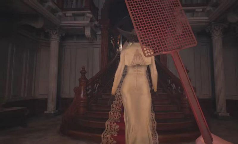 Resident Evil Village player smacks Lady Dimitrescu, and hilarity ensues
