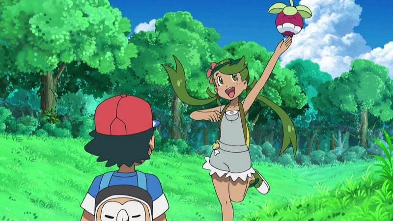 Bounsweet in the anime (Image via The Pokemon Company)