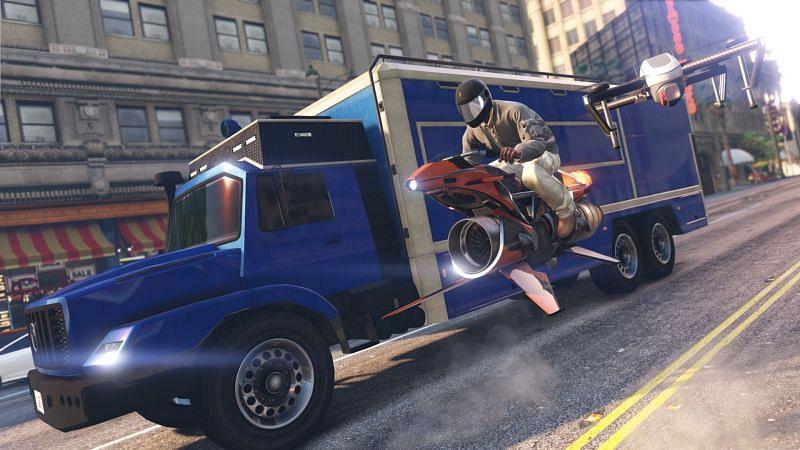 The Toreador is slightly cheaper than the Oppressor Mk II (Image via Rockstar Games)