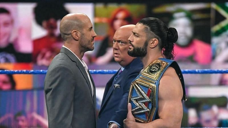 Cesaro will fight the Romans at WrestleMania Backlash