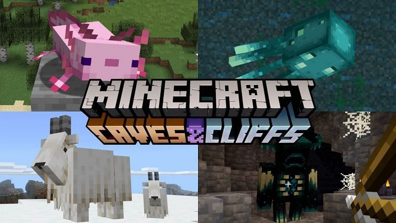 An image depicting all the new mobs (via YouTube)