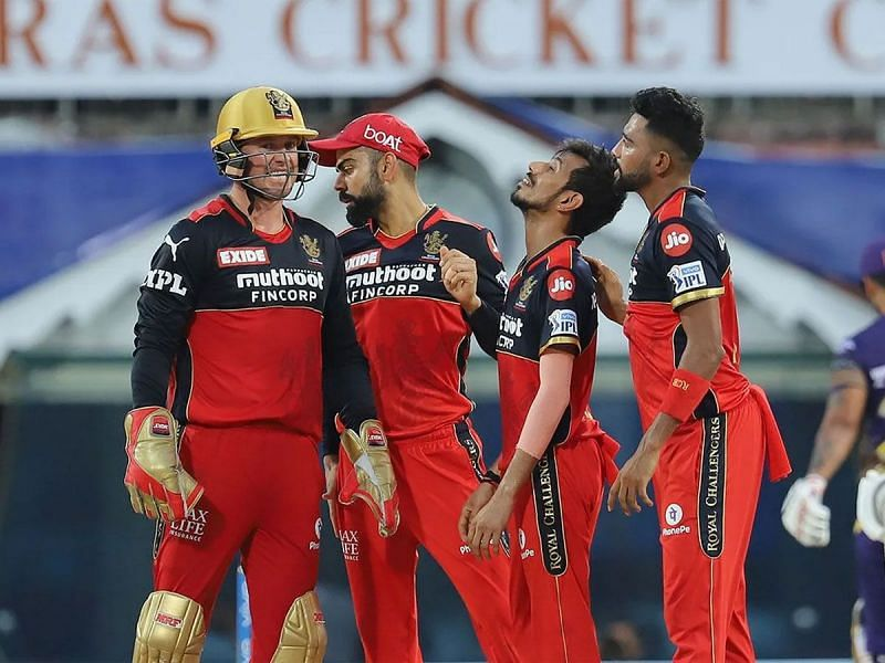 RCB coach Simon Katich backed out of form Yuzvendra Chahal (Image source @toisports twitter)