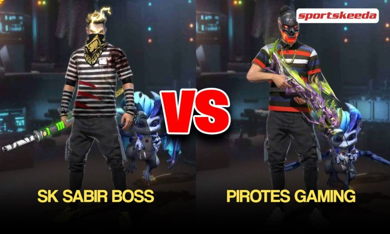 SK Sabir Boss vs Pirotes Gaming: Who has better Free Fire stats in May 2021?