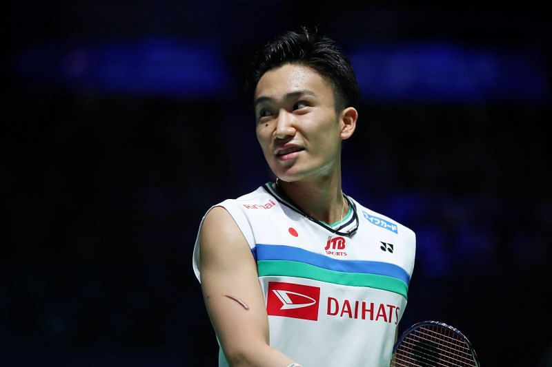 Kento Momota is eyeing his first medal at the Olympics
