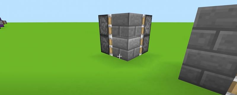 Pistons with a block (Image via YouTube)