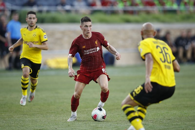 Harry Wilson failed to break into the Liverpool first team.
