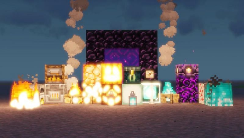 All Light producing blocks as of Minecraft 1.16.1 (Image via u/FikovaUpvotesPeople on Reddit)