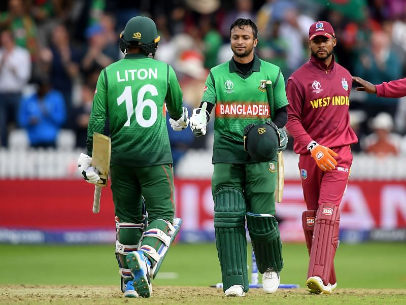 Shakib Al Hasan (C) is currently one of the most experienced players in the Bangladesh cricket team