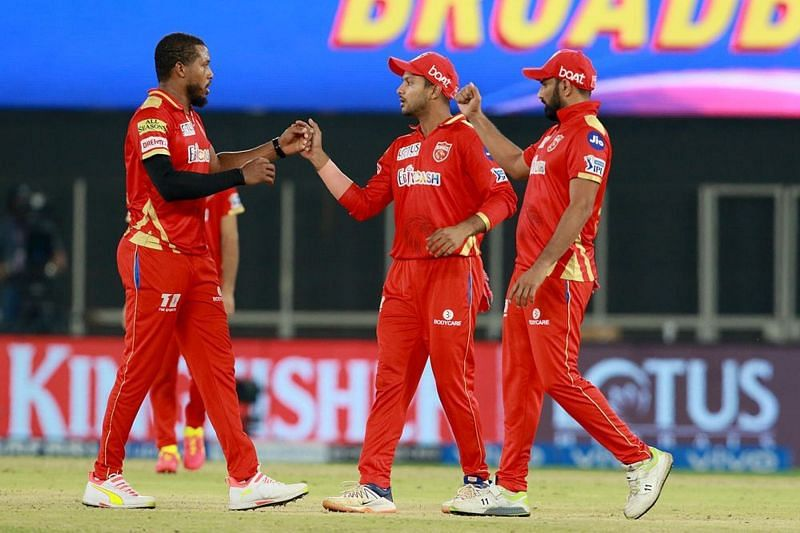 Mayank Agarwal was captaining the Punjab Kings for the first time [P/C: iplt20.com]