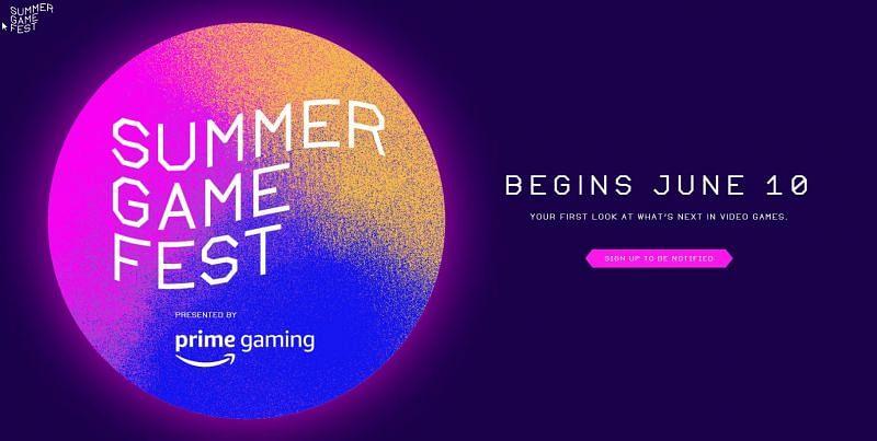 Summer Game Fest 2021 (Image from summergamefest.com)