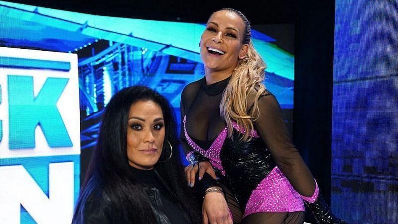 Tamina and Natalya had a lot to say