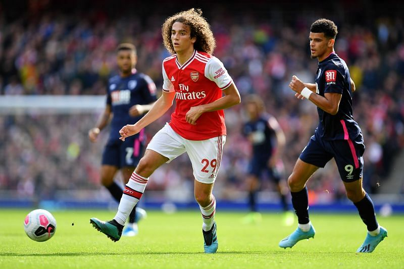 Guendouzi's Arsenal career is coming to an end. (Photo by Justin Setterfield/Getty Images)