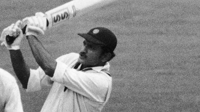 Ajit Wadekar was the batting hero of the 1968 India vs New Zealand Test in Dunedin