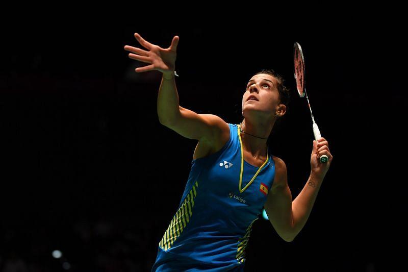 Carolina Marin continues her dominance at the European Badminton Championships
