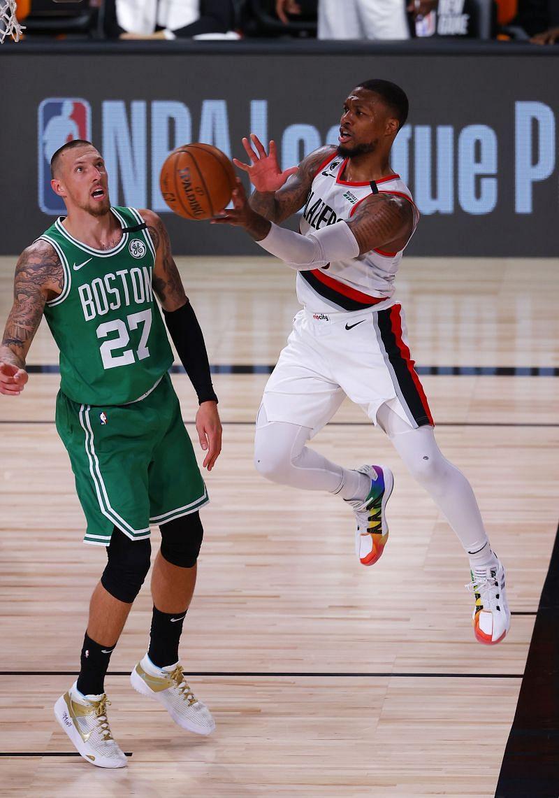 Portland Trail Blazers vs Boston Celtics