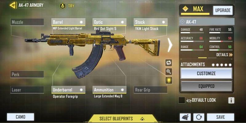 Mid-range - Aggressive (Image via Activision)