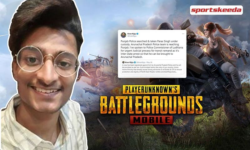 PUBG Mobile player, Paras Singh has been arrested