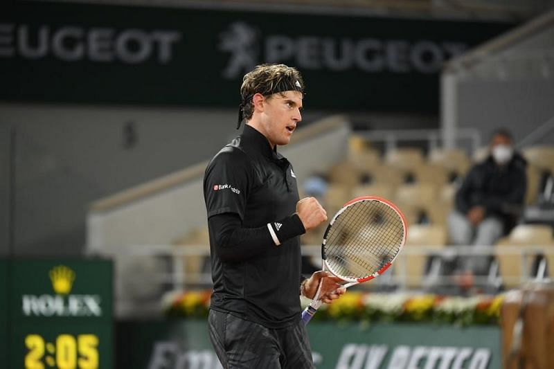 Dominic Thiem returns to Roland Garros following a quarterfinal exit in 2020