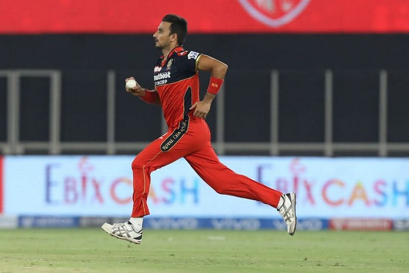 Harshal Patel had a nightmare outing with the ball, even though his batting somewhat made up.