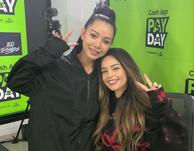 Valkyrae is rumored to feature in Bella Poarch