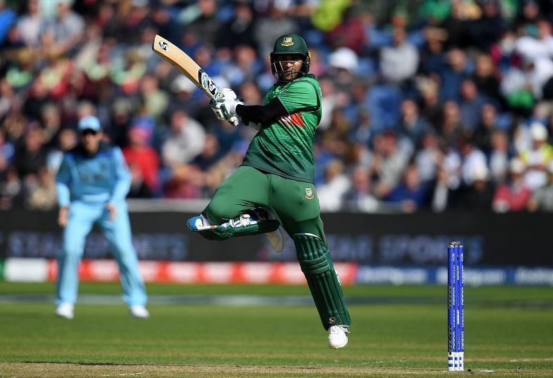 Shakib Al Hasan has scored two ODI hundreds at the number three position