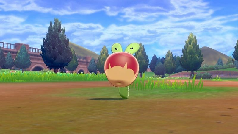 Applin in Sword and Shield (Image via The Pokemon Company)