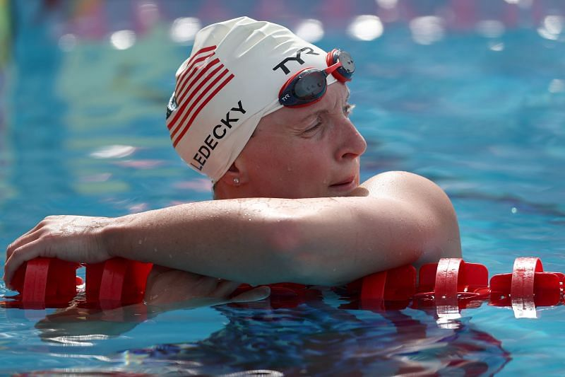 Swimming sensation Katie Ledecky all set to conquer Tokyo Olympics - Sportskeeda
