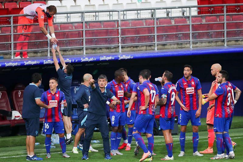 Eibar fashioned more chances than Barcelona