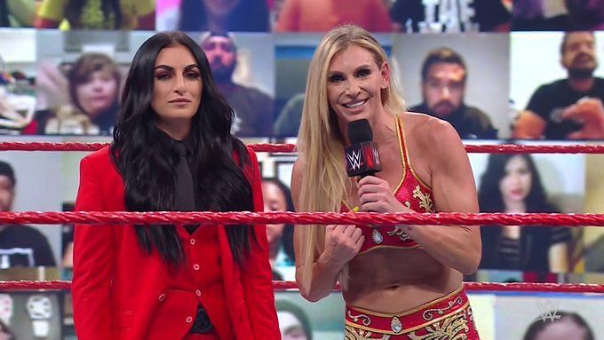 Sonya Deville and Charlotte Flair