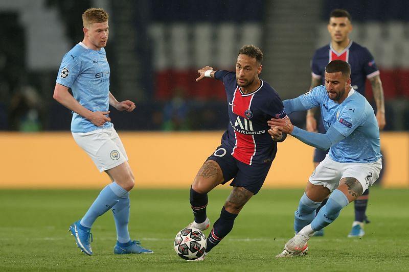 Paris Saint-Germain take on Manchester City this weekend