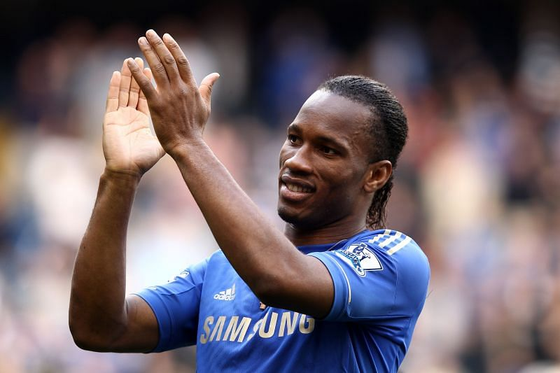 Didier Drogba is one of the greatest Chelsea players of all time