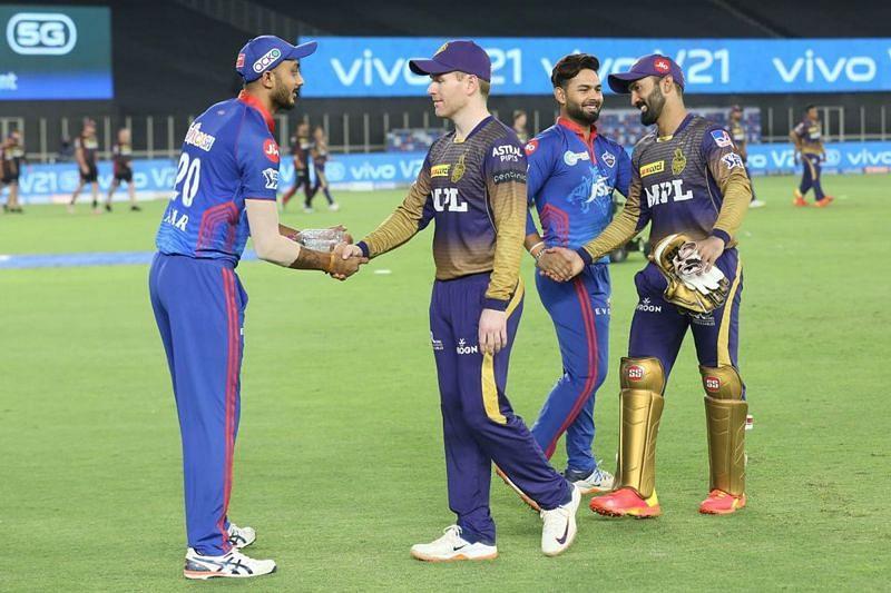 Delhi Capitals played against Kolkata Knight Riders on April 29th.
