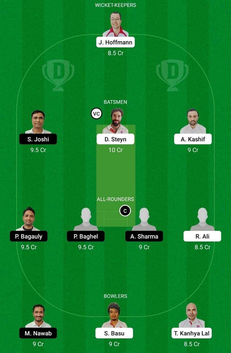 BRG vs UCC Dream11 Team