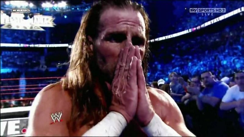 Shawn Michaels is a WWE Hall of Famer (Credit: WWE)