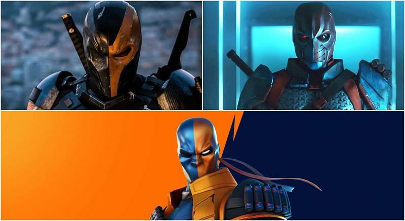 Fortnite Deathstroke Zero outfit comes with an unnecessary nose (Image via Sportskeeda)