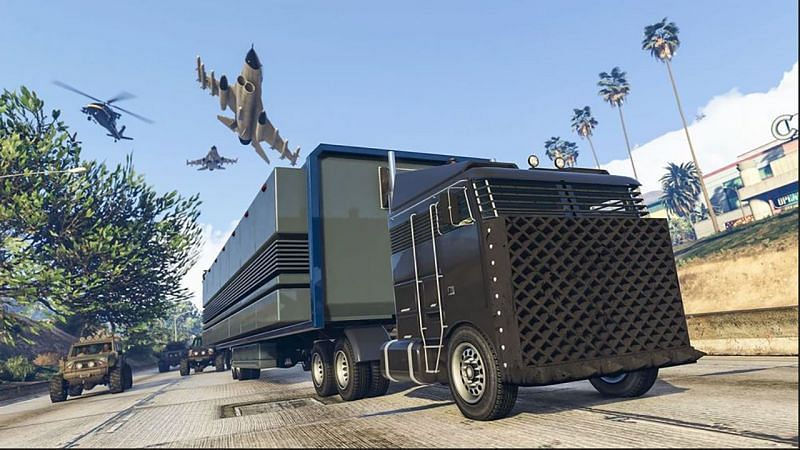 The Mobile Operations Center was introduced to GTA Online nearly four years ago (image via Rockstar Games)