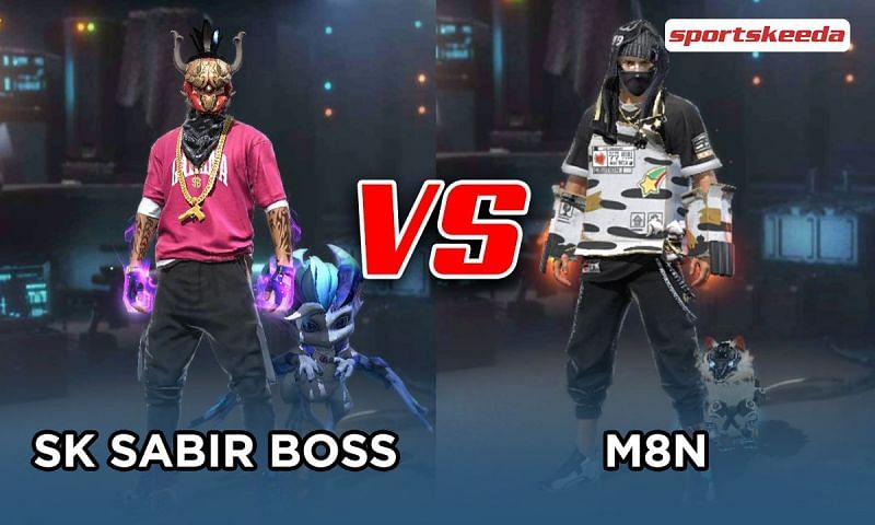 SK Sabir Boss vs M8N in Free Fire